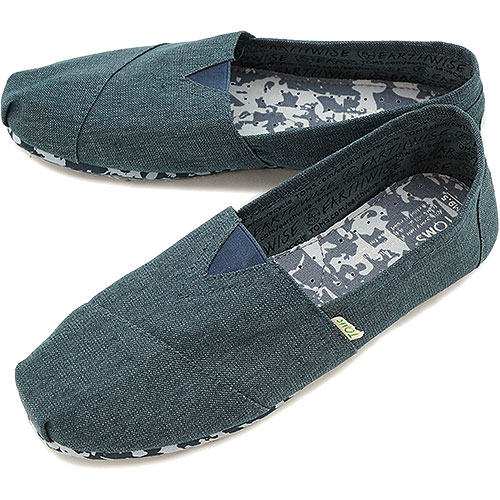 Toms Earthwise Classic Navy Recyclable férfi cipő