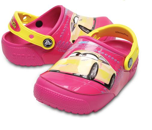 Crocs Fun Lab Lights Cars 3 Clog gyermek papucs/Candy Pink