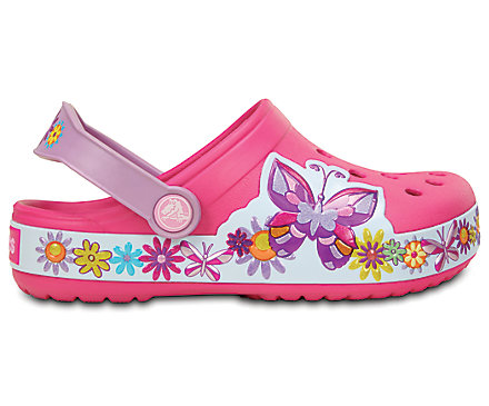 Crocs Crocband CB Butterfly Clog papucs Candy Pink