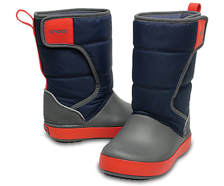 Crocs Kids LodgePoint Snow Boot gyerek csizma/Navy