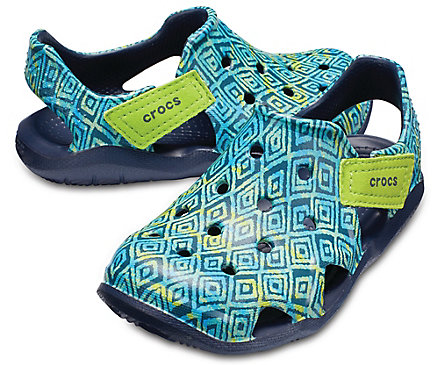 Crocs Swiftwater Wave Graphic gyerek papucs