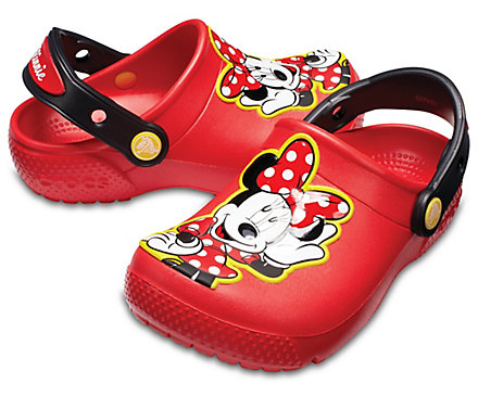 Crocs Kids' Crocs Fun Lab Minnie Mouse gyerek papucs