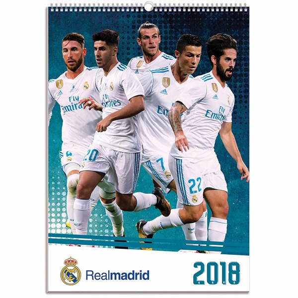 Real Madrid naptár 2018