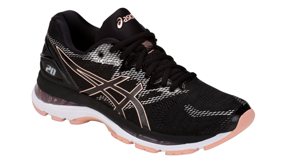 Asics Gel-Nimbus 20 női futócipő black/frosted rose