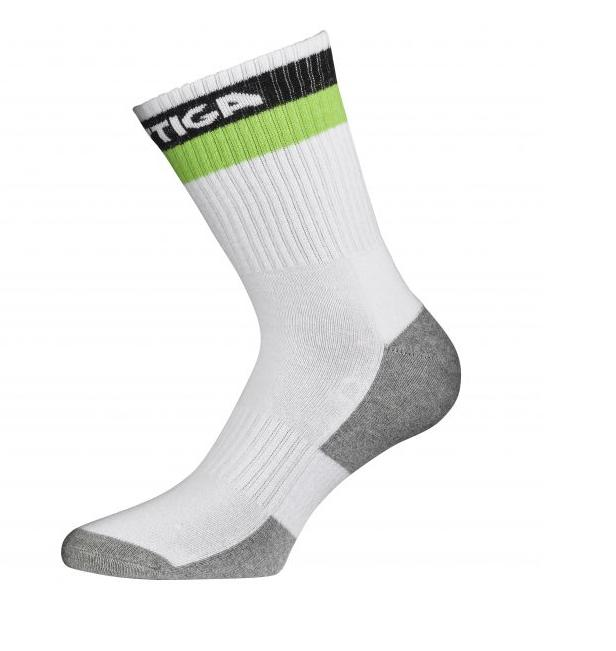 Stiga Prime High Socks White/Green
