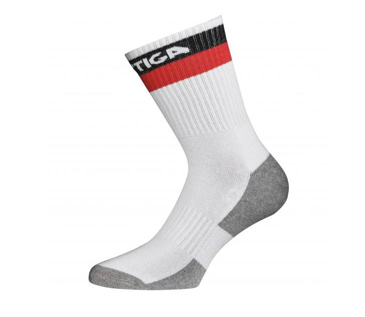 Stiga Prime High Socks White/Red