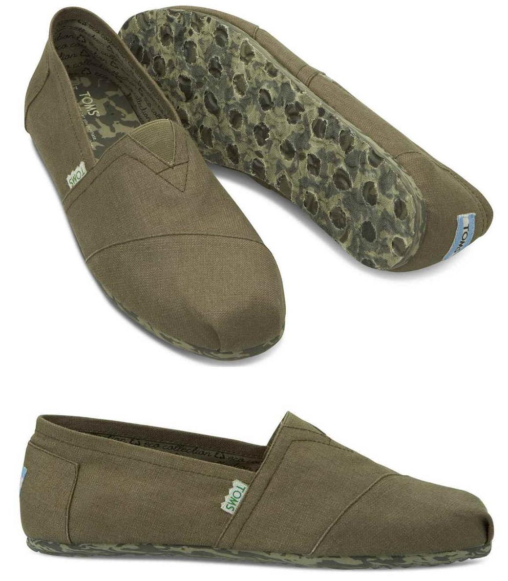 Toms Earthwise Classic Light Grey Recyclable férfi cipő