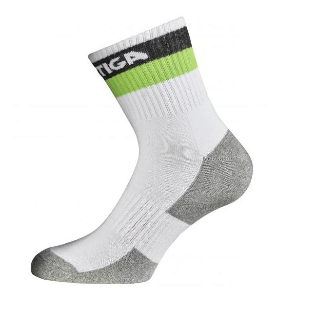Stiga Prime Semi High Socks White/Green