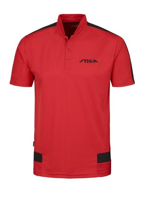 Stiga Creative Shirt poló Red/Black