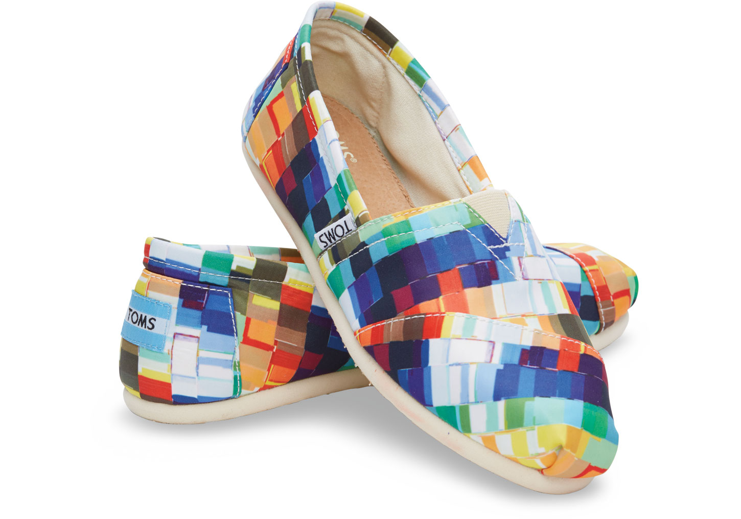 Toms Classic Multi Satin Paint Prin
