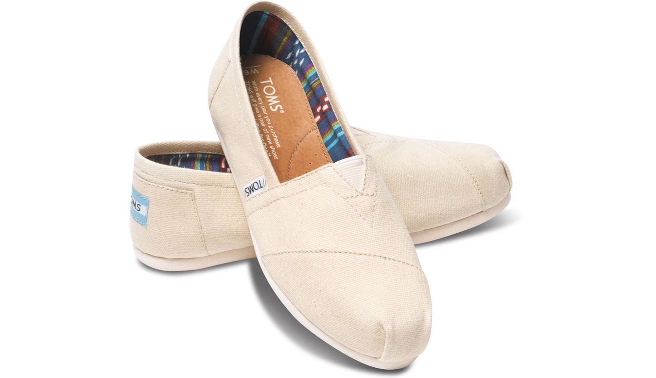 Toms Classic Natural Canvas női cipő